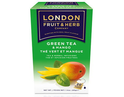 London Fruit & Herb Company packaging
