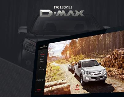 Isuzu D-Max Website