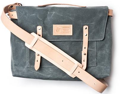 Ugmonk Waxed Canvas Messenger Bag