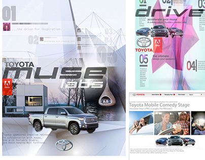 Toyota: Web | Poster Concept | Design