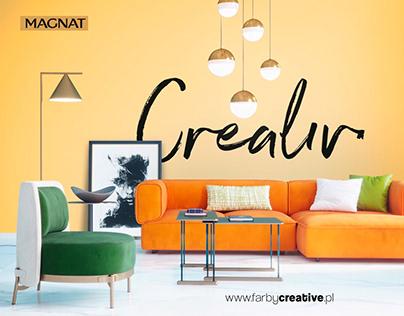 Billboard sponsorski dla Magnat Creative (Animation)