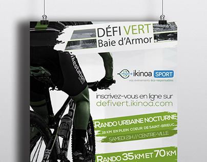 Affiche d'un projet d'épreuve VTT