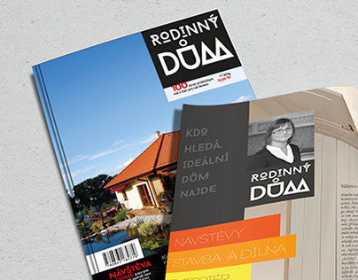 Rodinny Dum, Magazine about housing