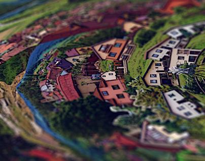 Ganovce / motion collage artwork
