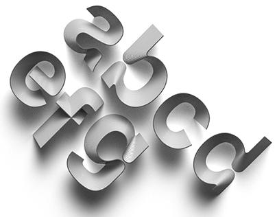 Next Level Sheet 3d Printable Typeface