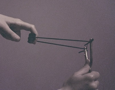 Brass slingshot for IMACULATURA
