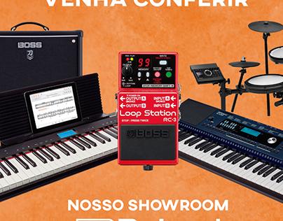 Showroom Roland
