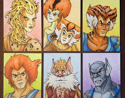 ThunderCats Series 001 Sketch Cards