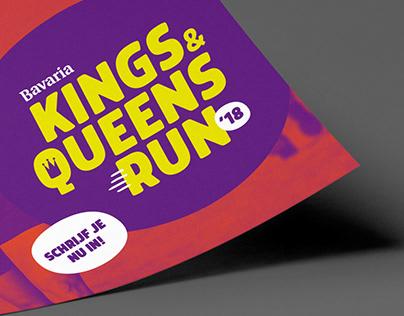 Bavaria Kings & Queens Run identity