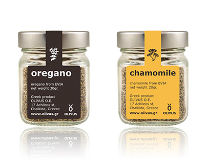 Oregano and Chamomile by OLIVUS