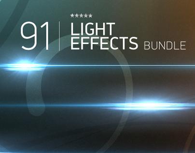 Free 91 Light Effects PSD