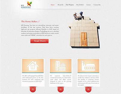 KD Housing Web Design & Development