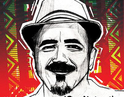 Haji Mike Poster FRONTLINES AWEH! Kznsa