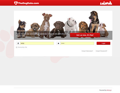 // Thedogdate.com - Social network for dogs