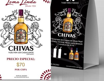 CHIVAS REGAL ⎪ Tent Cards