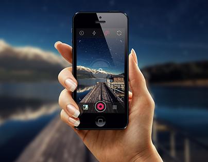 iOS7 Photo Camera