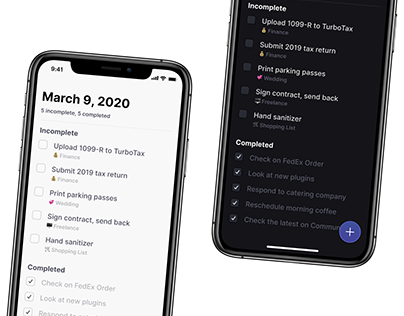 UI Daily challenge - To do list app