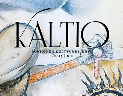 Kaltio magazine redesign