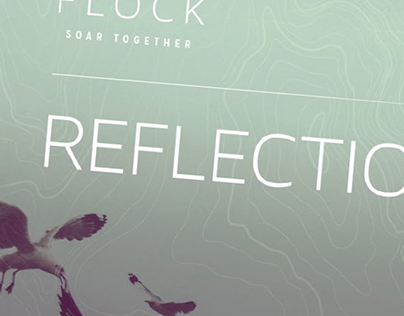 Flock Reflection Guide // print