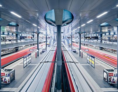 berlin main central station