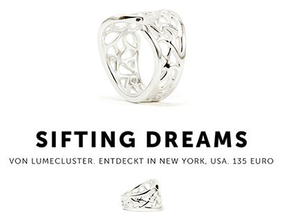 """Sifting Dreams"" Ring (Stilnest)"