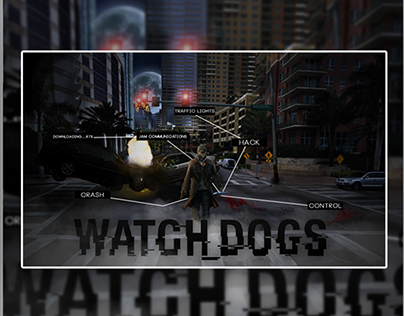 Watch Dogs // Photo Manipulation // Hack the system
