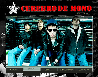 CDM. Website to a punk band