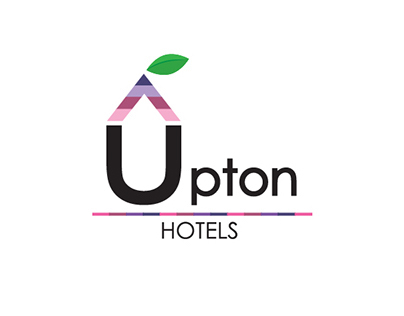 Upton Hotels Logo design