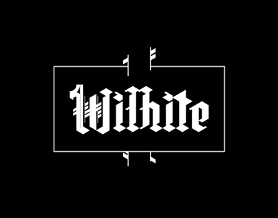 Wilhite - a gif based typeface