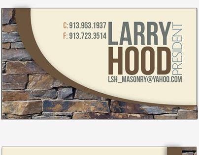 Lsh masonry business cards on behance colourmoves
