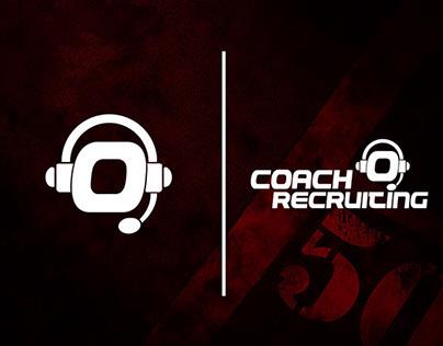 Coach O Recruiting Logo Design