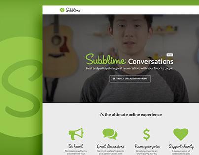 Subblime Conversations