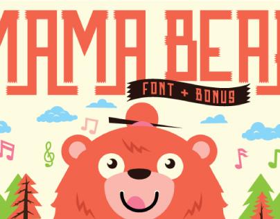 MamaBear Typeface