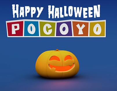 Making Off Pocoyo Halloween
