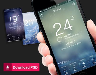 WeatherLite iOS app