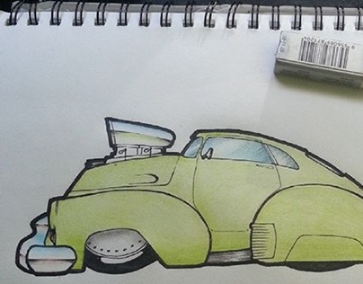 Vehicle drawings and sketches
