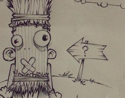 Mixed sketches