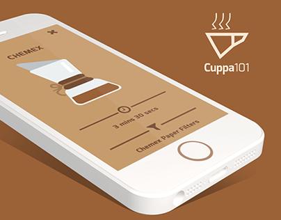 Cuppa101 - Minimal Coffee Guide