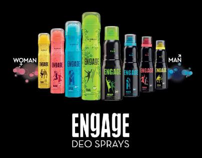 Engage Deo Sprays
