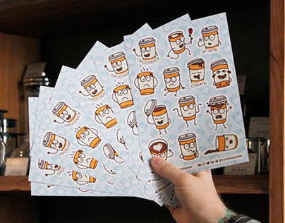 Стикеры Кофеёчек | Coffee Dude stickers
