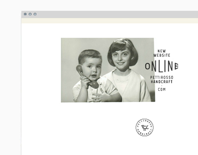 Pettirosso Handcraft - Web Site.