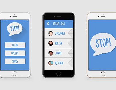 App - Stop! [UI/UX]