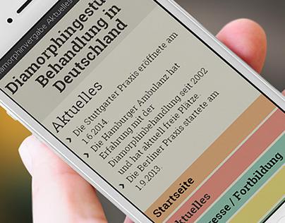 German diamorphin programme website
