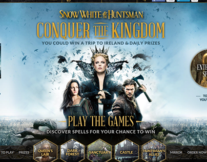 Snow White and the Huntsman - Promotional Website