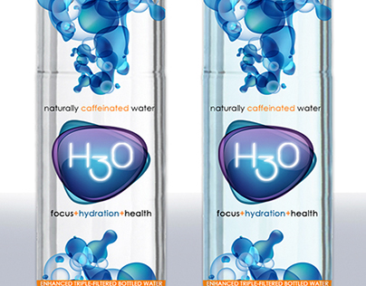 H3O - Brand&Identity ProductLabel