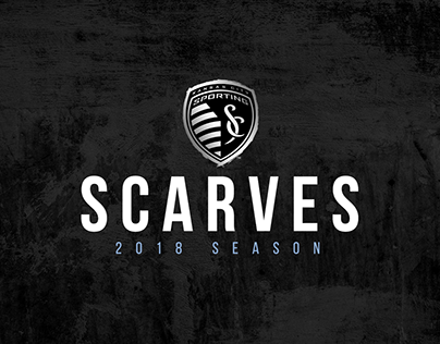 Sporting KC Scarves - 2018 Season
