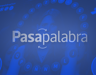 PASAPALABRA CHV- ON AIR GRAPHICS REDESIGN
