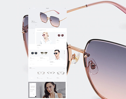 Bolon eyewear - Website