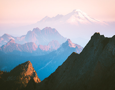 Layers of the Cascade Range