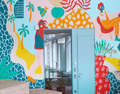 Mural / Next Floor